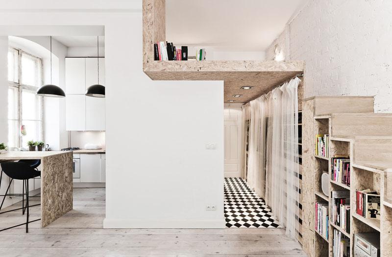 29 sq m loft apartment home