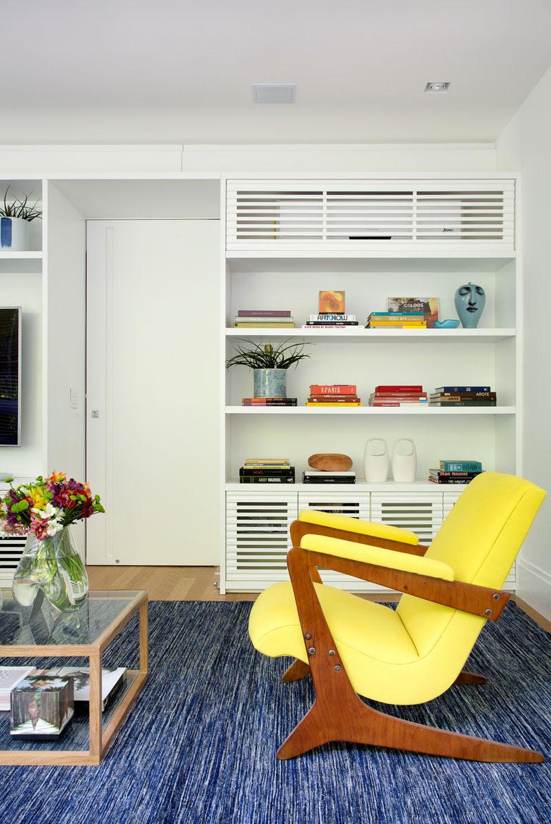 Aircon apartment living area