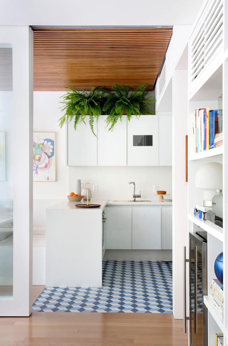 Aircon apartment kitchen