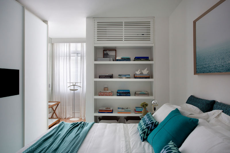 Aircon apartment bedroom