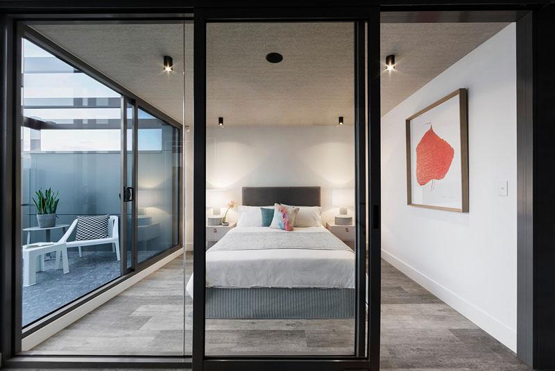 Feldman House bedroom