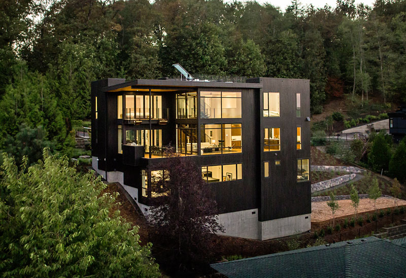 The Music Box Residence A Beautiful Home For A Family Who Loves Music Home Design Lover