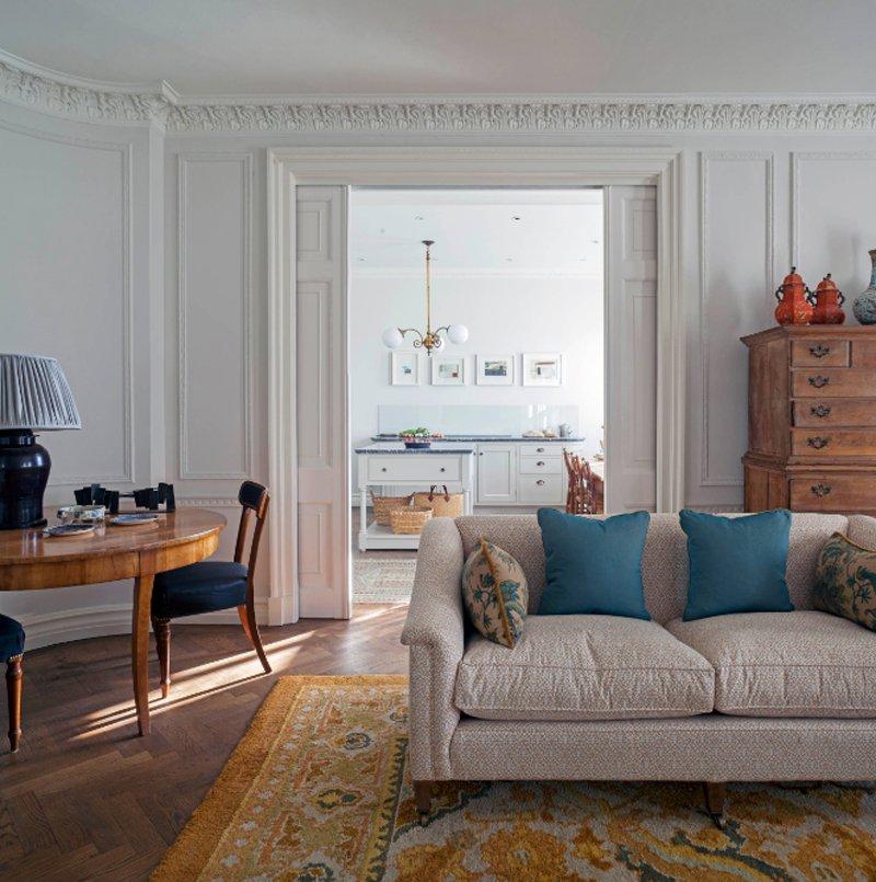 20 Lovely Wooden Sliding Doors in the Living Room | Home ...