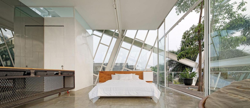 Slanted House Interior 10