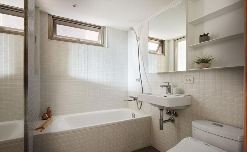 loft apartment bathroom