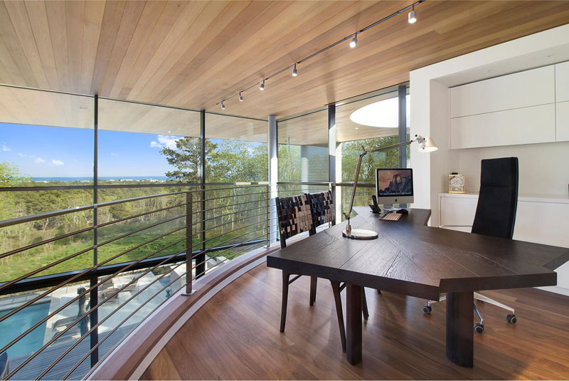 Hamptons Residence home office