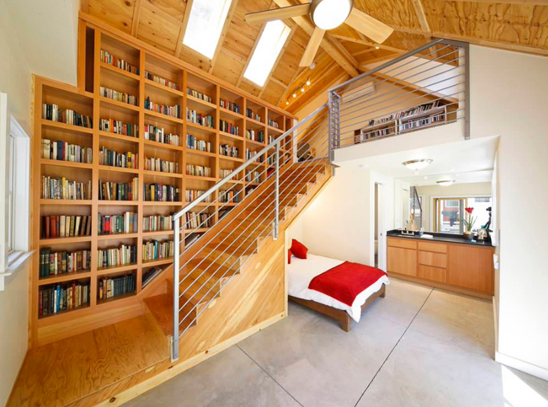 20 Beautiful Bedrooms With Stairs Home Design Lover