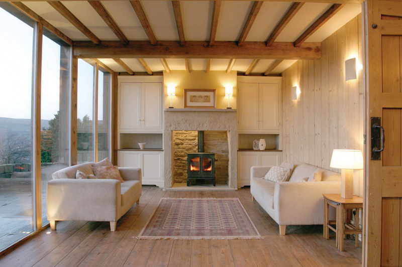 The Belfry  Indoor Wood Burning Fireplaces