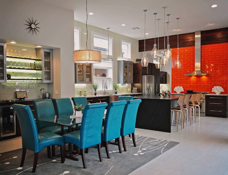 Decorating 20 Dining Room With Printed Area Carpets Home Design Lover