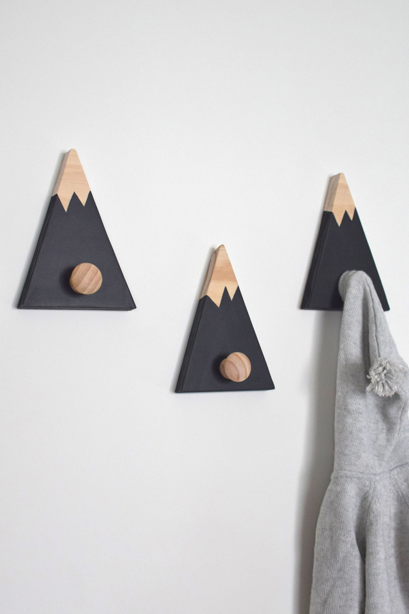 Mountain Wall Hooks
