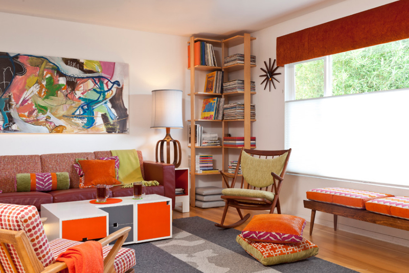 Colorful Mid Century Modern Residence. Email; Save Photo. Kropat Interior