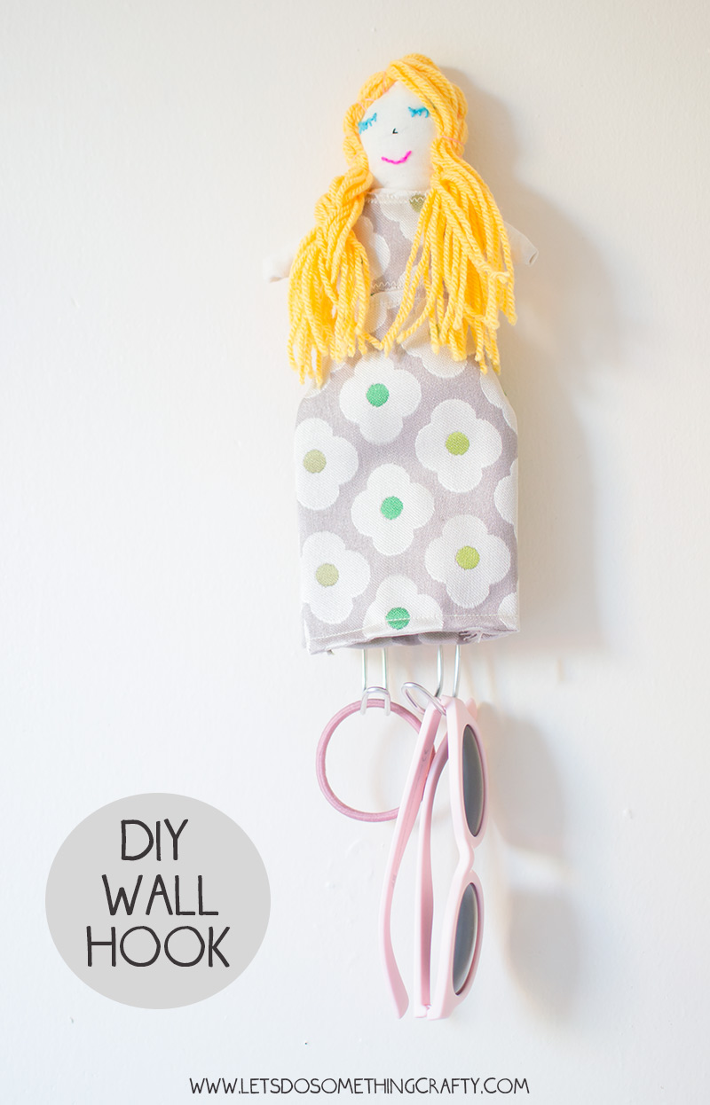 How To Make A DIY Dolly Wall Hook