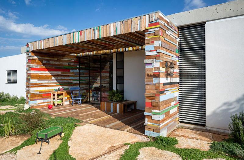 house scrap wood