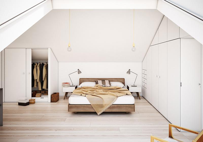 Tan Bed