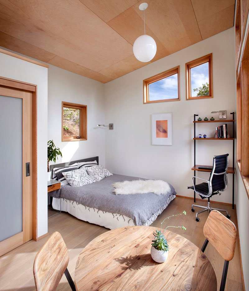 small guest house bedroom