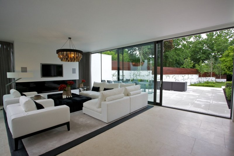 sliding doors living room 22 awesome glass sliding doors in the living room home 17744