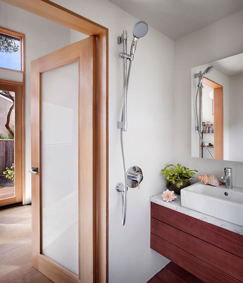 5 tiny home bath - 23+ Modern Small Guest House Design PNG