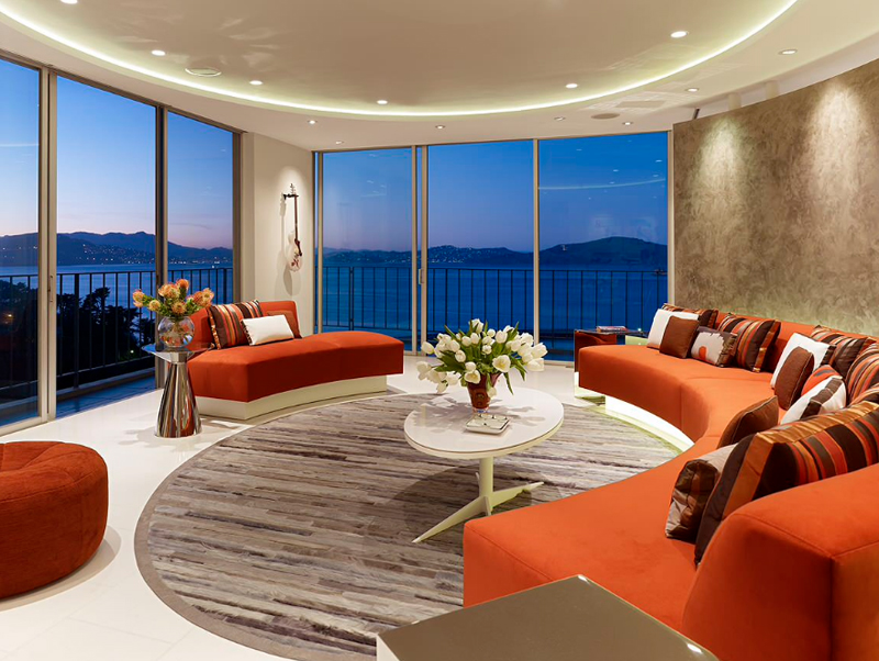 Elegant Fontana PenthouseAH. Mark English Architects, AIA. Seen This Living Room  Design ...