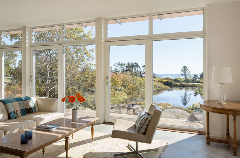 Lily Pond House interior