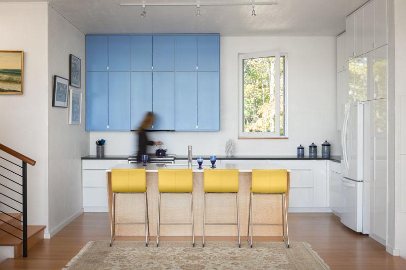 Lily Pond House kitchen