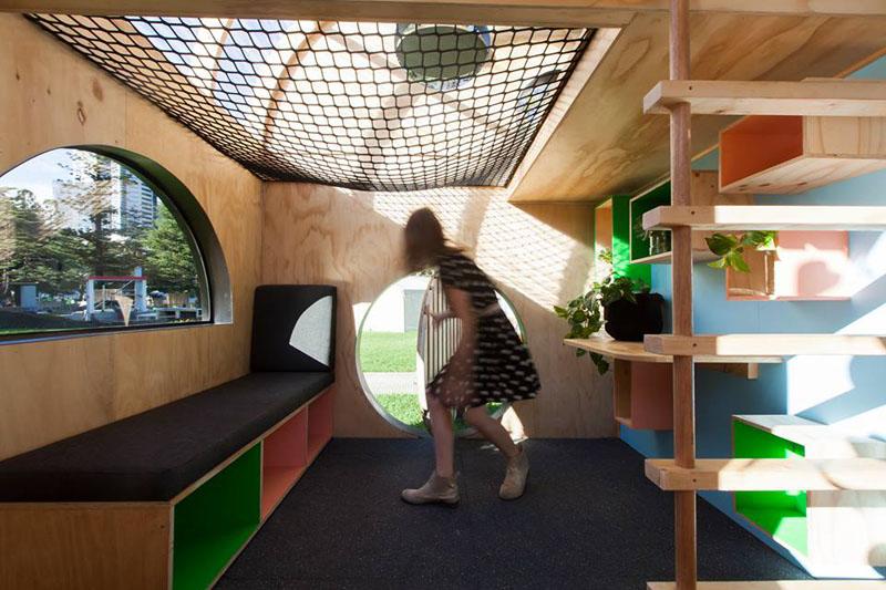 Children's Playhouse back door