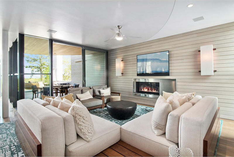Hamptons Residence sitting area