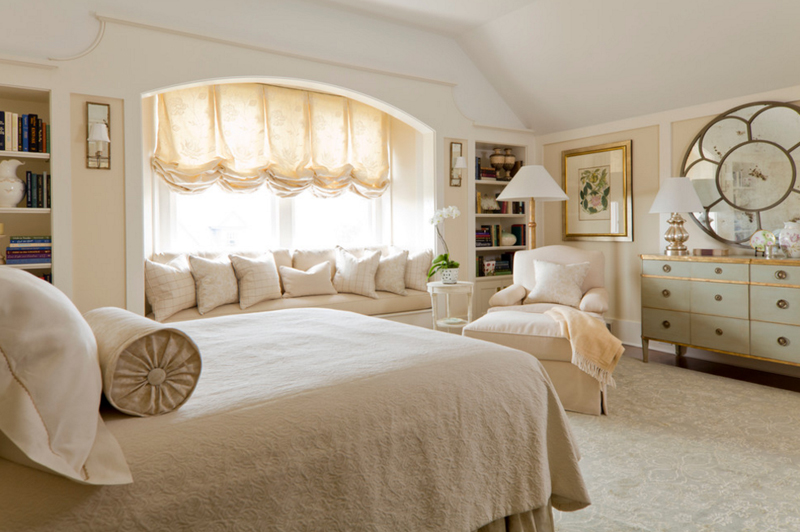 House C3 & 20 Stunning Bay Windows with Seats in the Bedroom | Home Design Lover