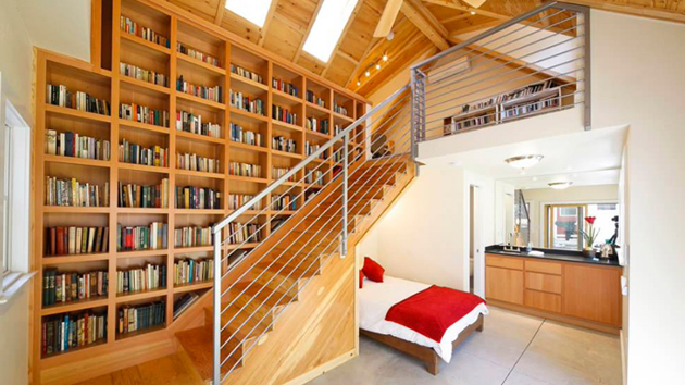 20 Beautiful Bedrooms With Stairs