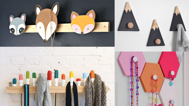20 Diy Wall Hooks To Hang Your Items At Home Home Design