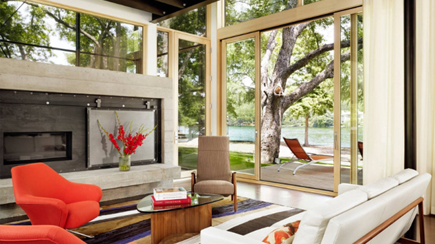 22 Awesome Glass Sliding Doors In The Living Room Home Design Lover