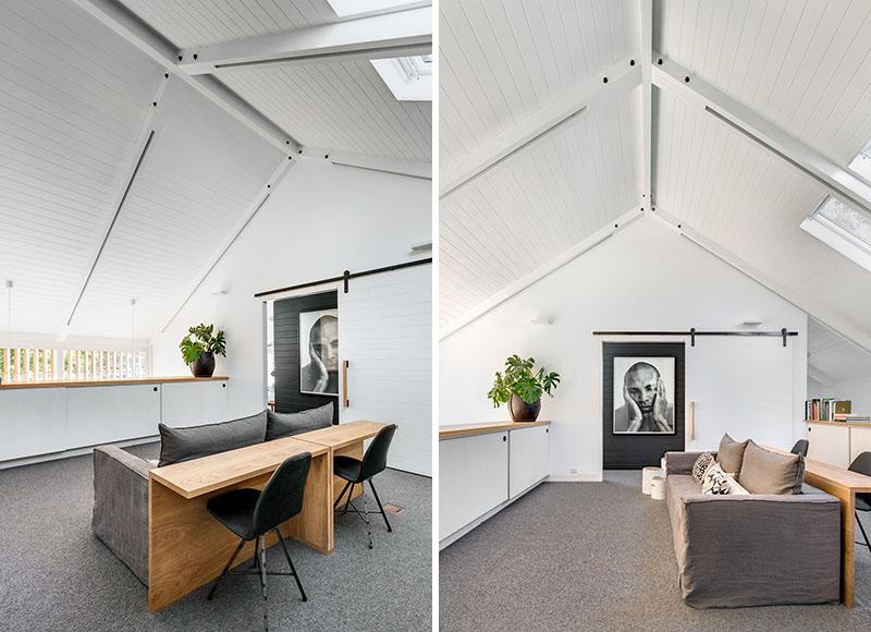Barn House lounge area