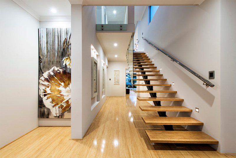 20 wood and glass contemporary staircase designs home for How to design a home