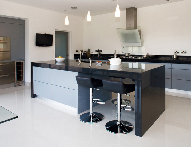 20 Contemporary Black Countertops in the Kitchen | Home ...