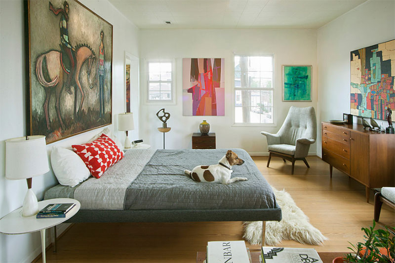 22 Cozy and Chic Midcentury Bedroom Designs | Home Design Lover