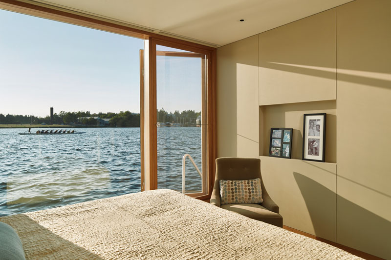 Floating House bedroom