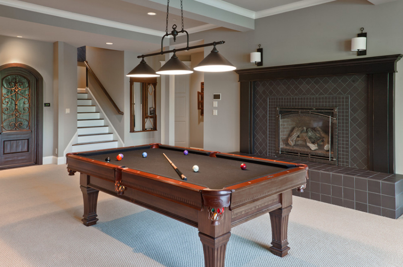 20 awesome pool table lighting home design lover beaver lake3 greentooth Image collections