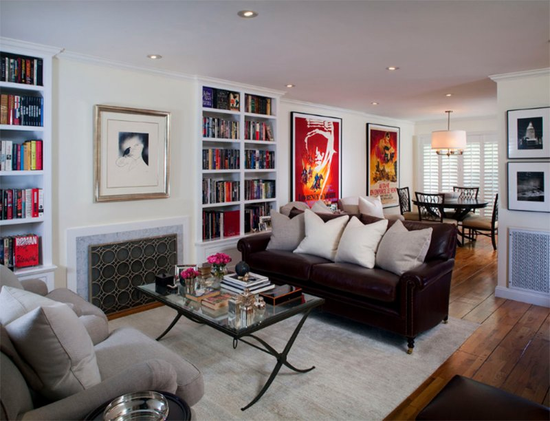 Transitional West Hollywood Condo Makeover
