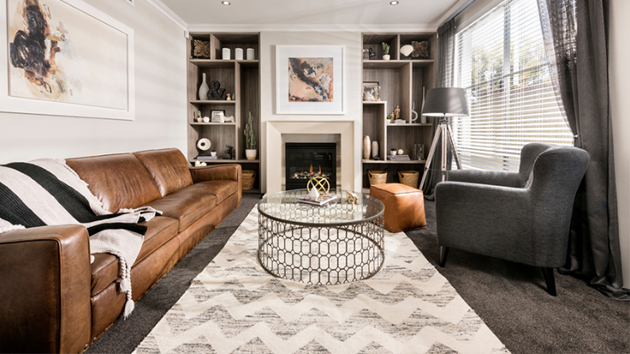 22 gorgeous brown and gray living room designs home design lover - Grey And Brown Living Room