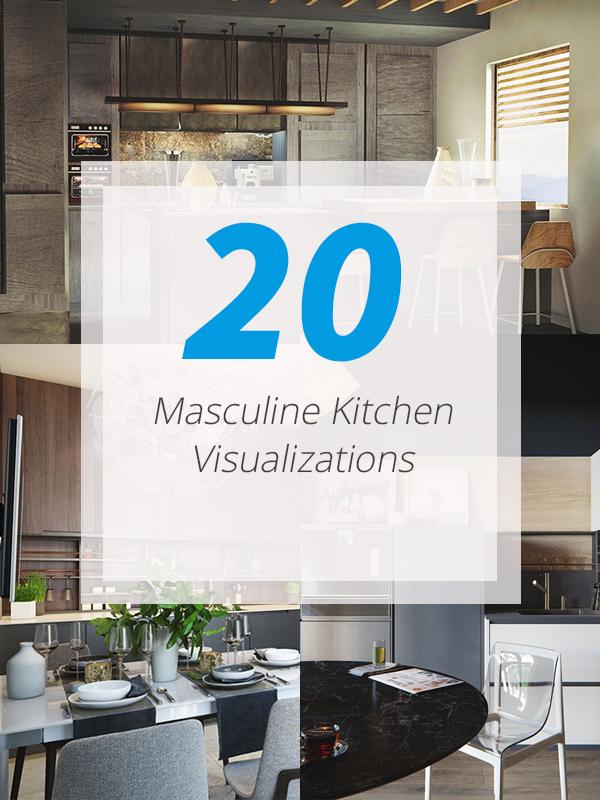 kitchens masculine