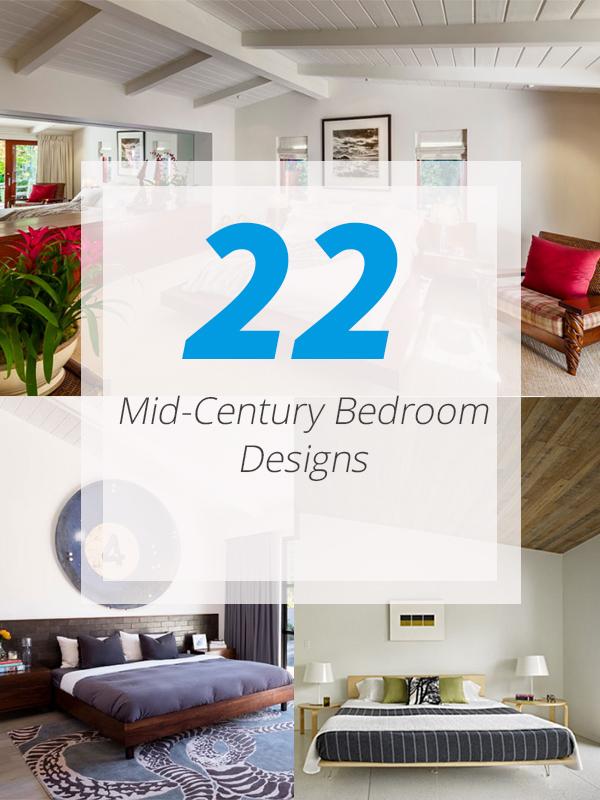 Midcentury bedroom designs