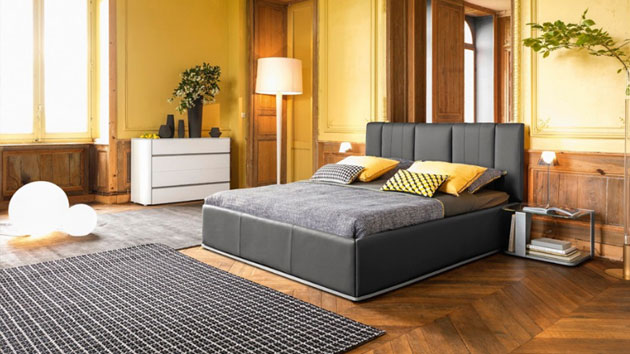 20 stunning parquet flooring in the bedroom home design lover. Black Bedroom Furniture Sets. Home Design Ideas