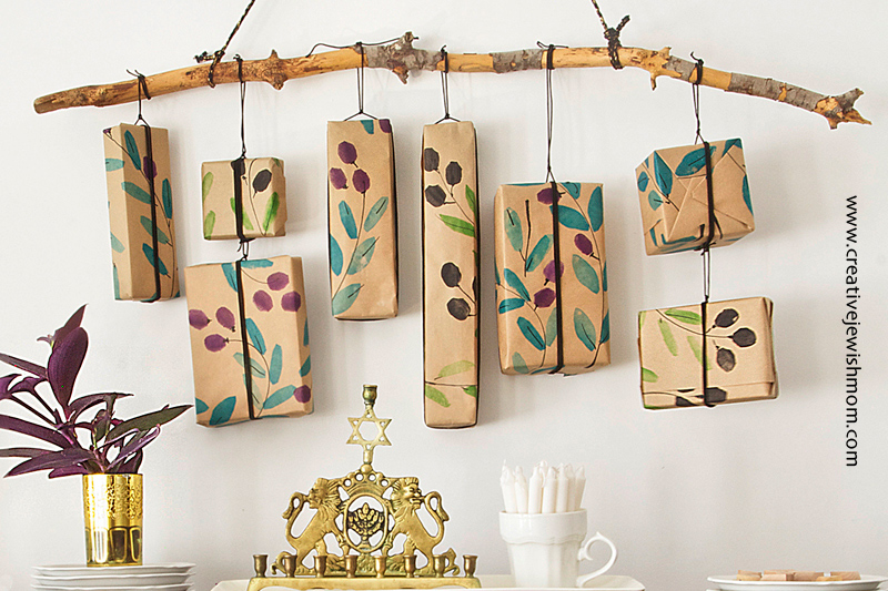Hanukkah Craft: Eight Nights Of Surprises Wall Hanging