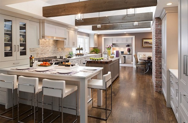 22 Appealing Rustic Modern Kitchen Design Ideas
