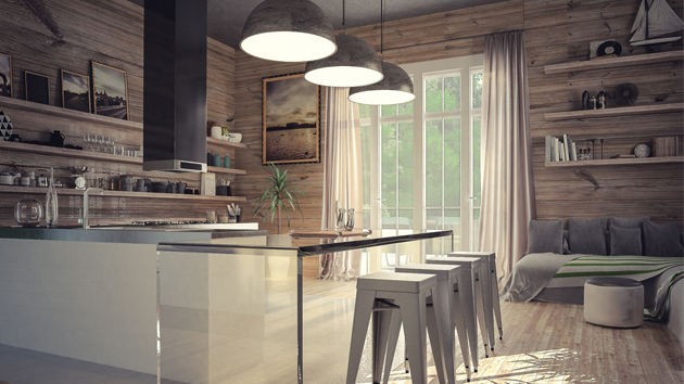 22 Appealing Rustic Modern Kitchen Design Ideas Home Design Lover