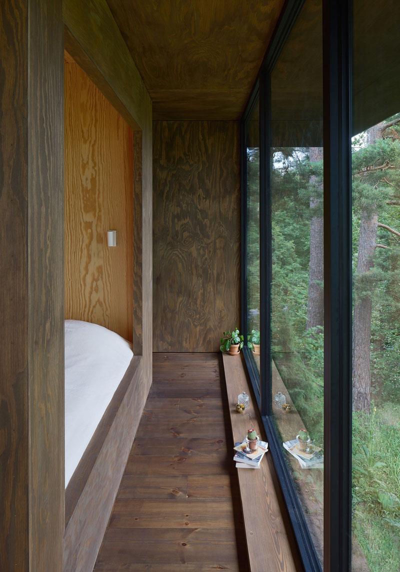 Small Summer House master bedroom
