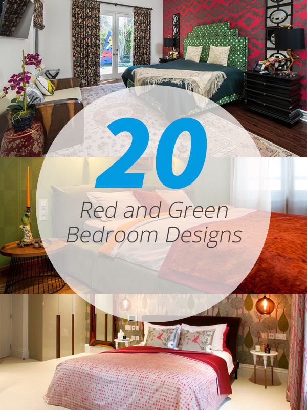 red-green-bedrooms
