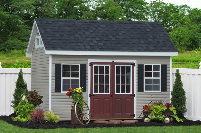 Garden Sheds Vinyl 20 whimsical traditional garden sheds for a fairy tale like