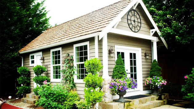 20 Whimsical Traditional Garden Sheds For A Fairy Tale Like