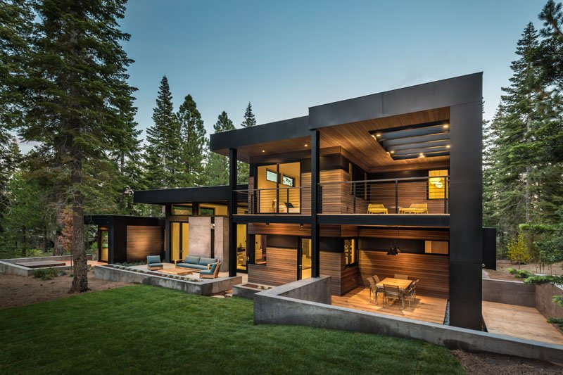 Martis Olana Drive: A Stunning Californian Home With Black ...