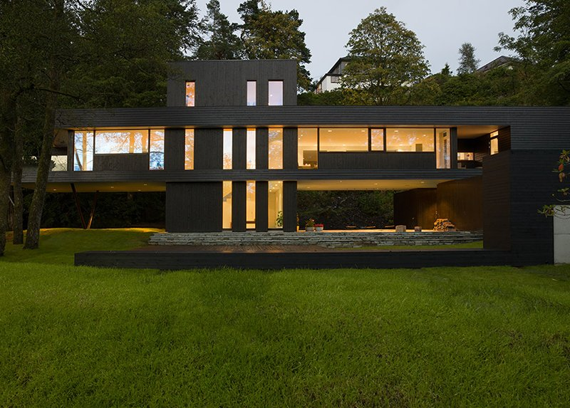 20 Unique Black Modern Homes You Ll Admire Home Design Lover